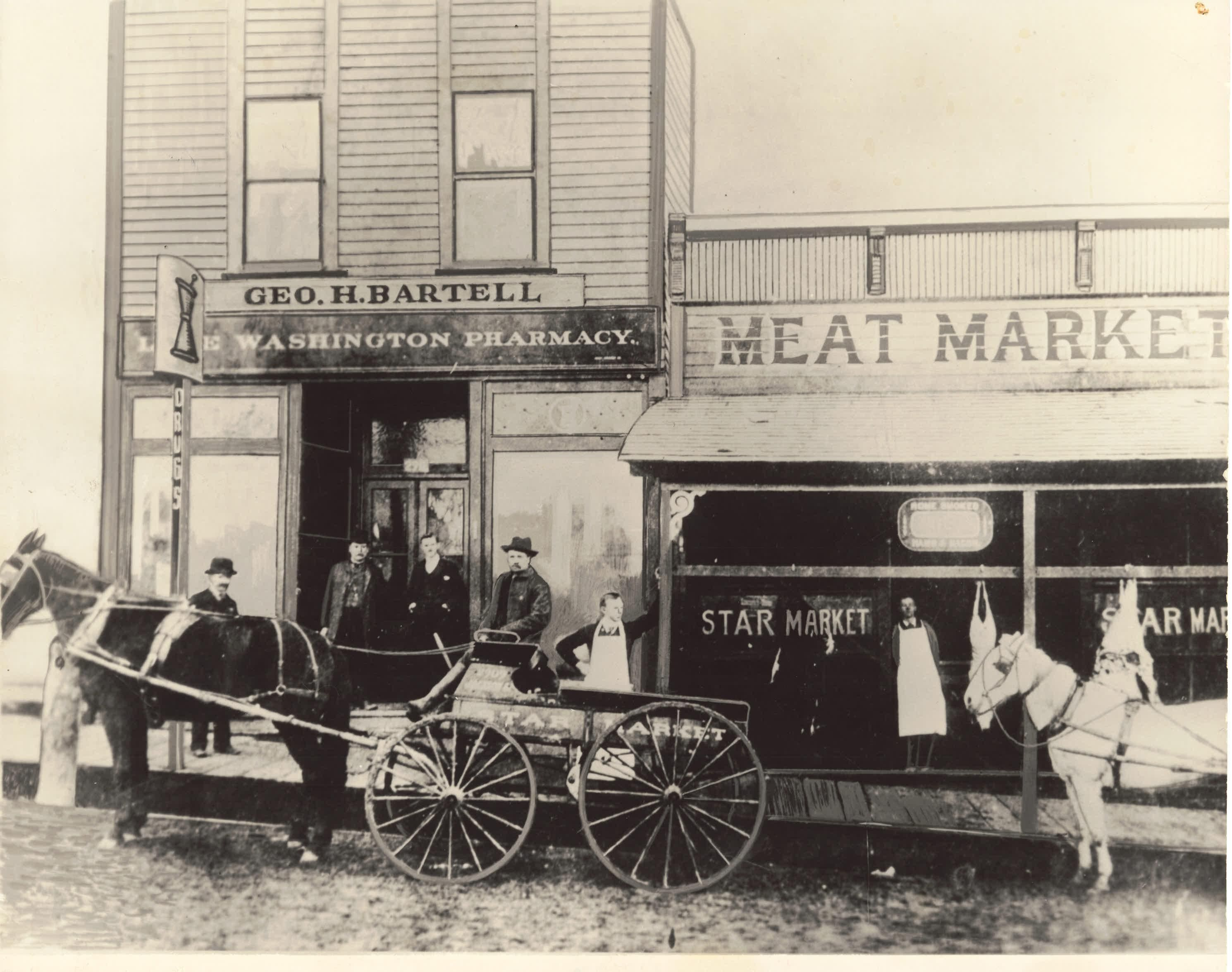 Bartell Drugs first store, Seattle - circa