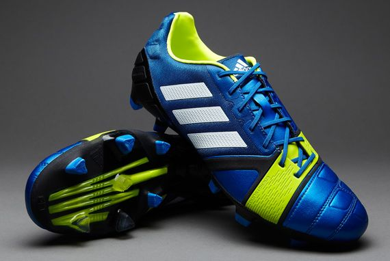 best loved d4cf7 bbe42 adidas Nitrocharge 1.0 TRX FG - BlueWhiteElectricity UK 8.5 pdsmostwanted