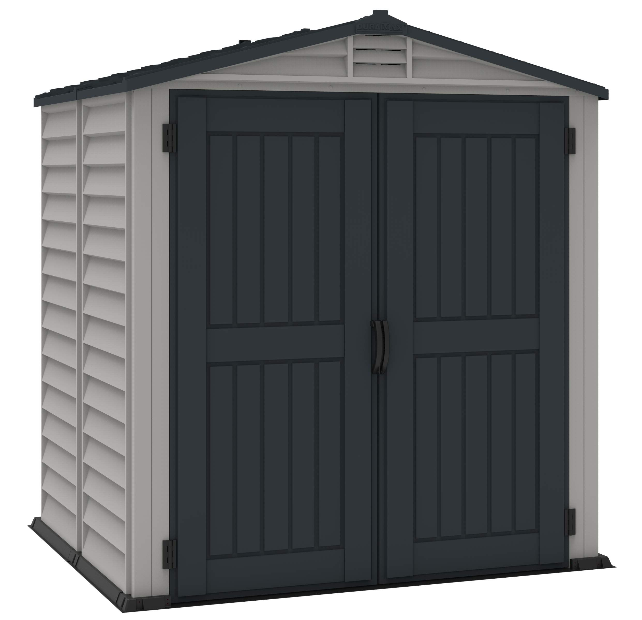 Duramax 30425 Storemate Plus Outdoor Storage Shed Check Out This Great Product It Is An Affiliate Link In 2020 Vinyl Storage Sheds Storage Shed Storage Shed Kits