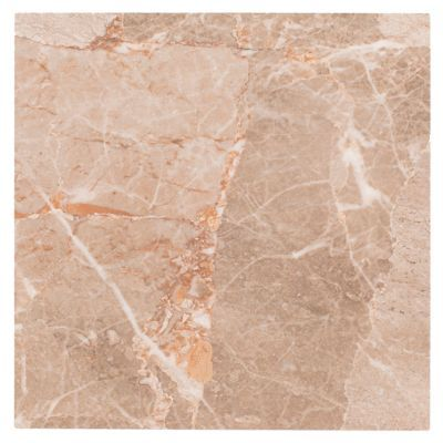 U003cpu003eThis Taupe, High Gloss Finish Kyara Camel Ceramic Tile Is 18in.