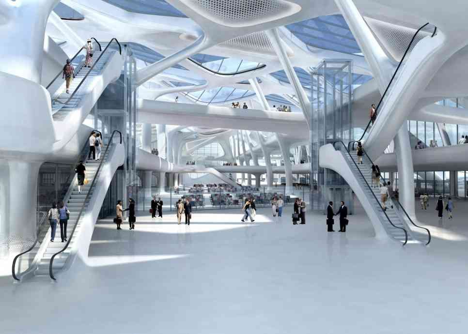 Zagreb Airport Zaha Hadid Architects Arch2o Com In 2020 Zaha Hadid Zaha Hadid Architects Zaha Hadid Design