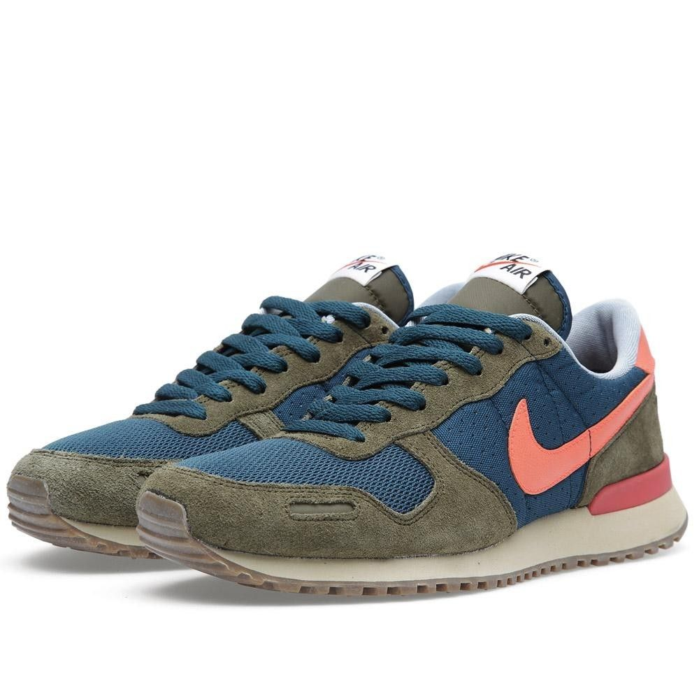 Vortex Dark Orange Womens Navy Olive Trainers Air in Nike DHIWE2eY9