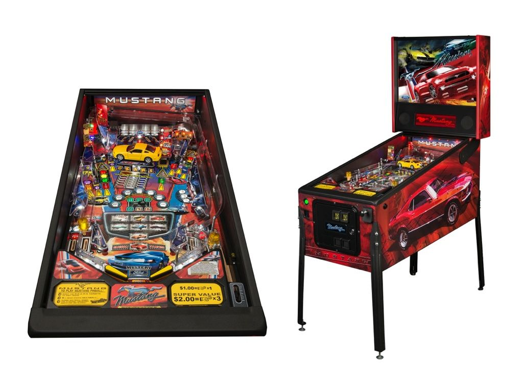 Get Your 2015 Ford Mustang Groove On With A Pinball Game Ford Mustang New Ford Mustang 2015 Ford Mustang