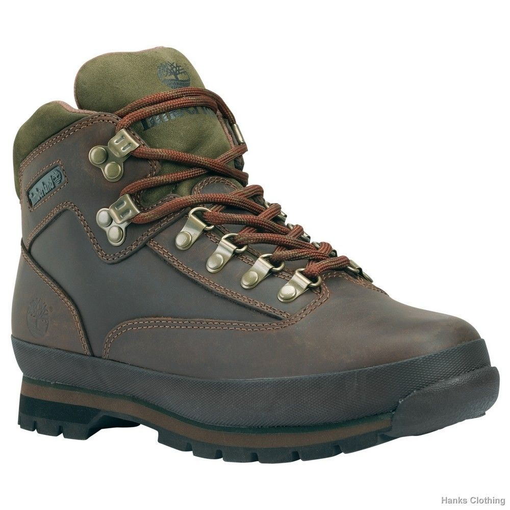 Timberland 95100 Icon Euro Hiker Brown Leather Medium Width