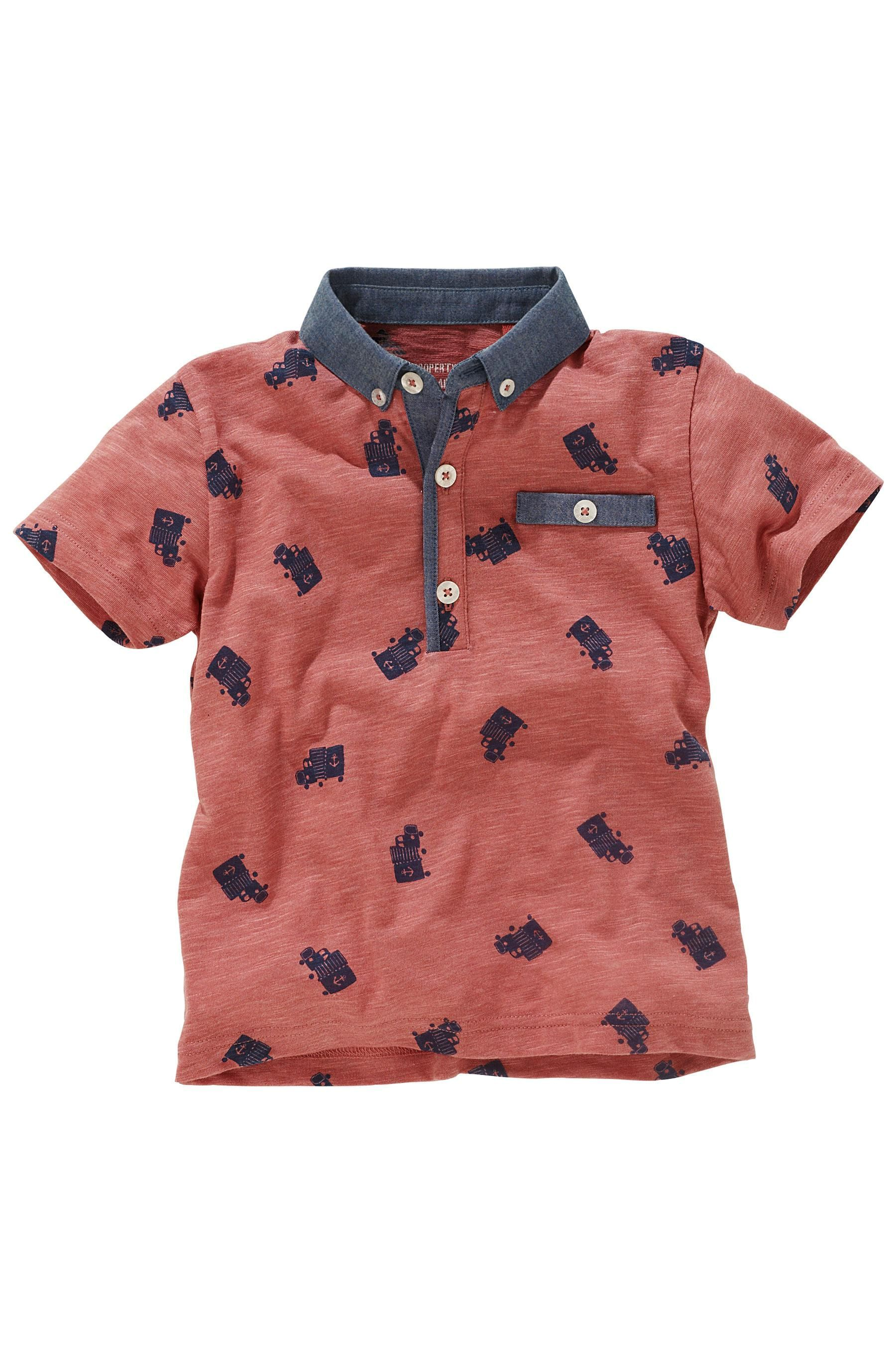 Buy All Over Print Truck Poloshirt (3mths-6yrs) from the Next UK online shop