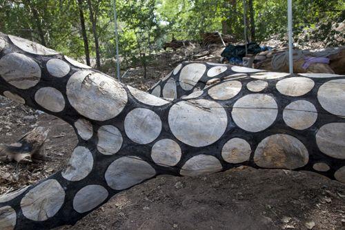 Inspiration: Stuart Frostu0027s Scorched Elms. Garden FencesGarden ArtGarden ...