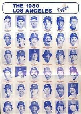 1980 Los Angeles Dodgers Team Photo 25 00 1980 Los Angeles