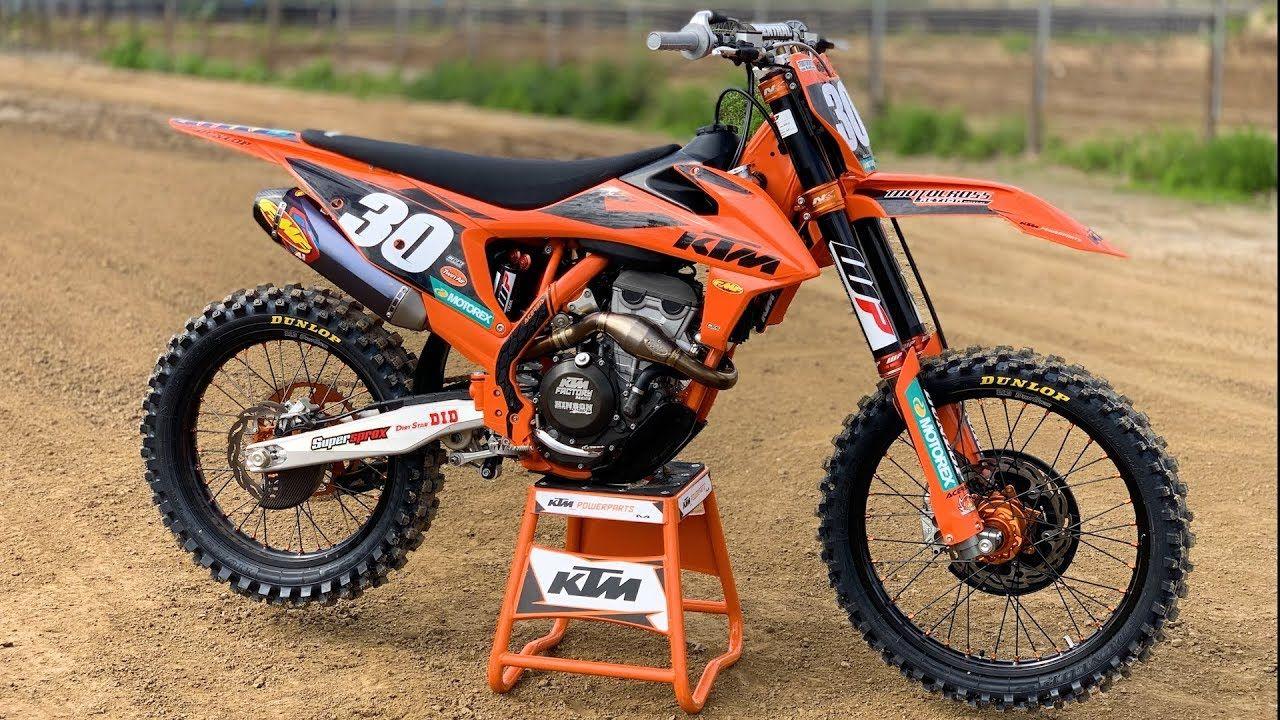 Extreme 2019 Ktm 250sxf Build Motocross Action Magazine Ktm