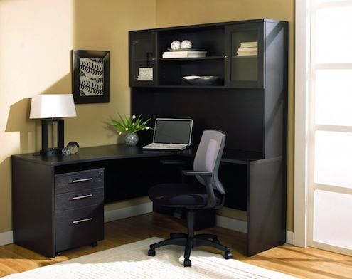 BOB VILA'S 24 DAYS OF HOLIDAY GIVE-AWAYS! Today's prize is a Jesper Office Desk with Hutch and Filing Cabinet from Hayneedle.com. Enter before midnight for your chance to win!