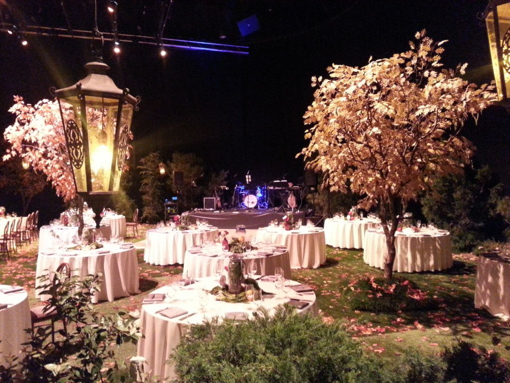 Wedding Reception Decorations | Enchanted Forest at Jim Henson ...
