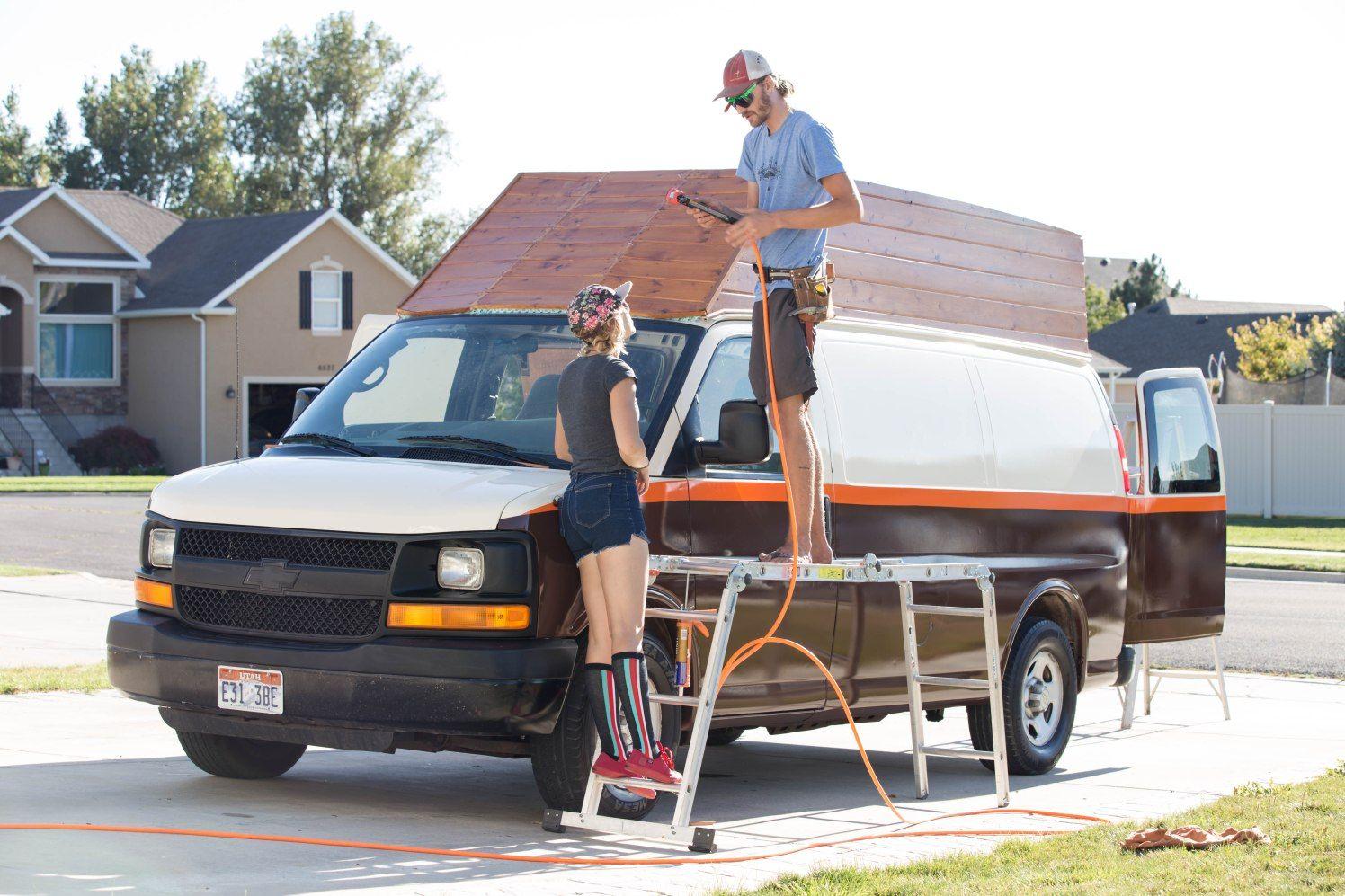 Working Together 1 Of 1 Astro Van Van Conversion Roof Chevy Express