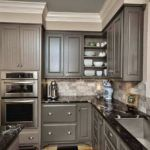 cool 50 Amazing Wood And Glass Kitchen Cabinets Ideas