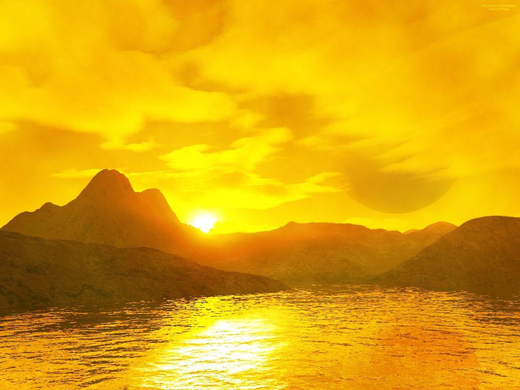 pin golden sunset hd - photo #18