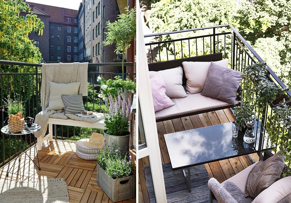 20 jolis petits balcons terrasses pergolas jardins pinterest balcon petit balcon et. Black Bedroom Furniture Sets. Home Design Ideas
