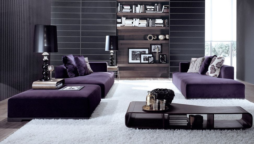 How To Match A Purple Sofa To Your Living Room Décor Part 71