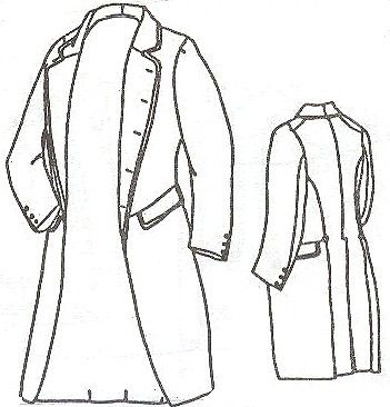 Men\'s 19th Century Clothing Patterns | character stuff - Dack Tavers ...