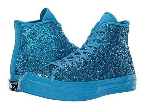 fbd891081c6 Converse Chuck 70 After Party Glitter High Top Blue Hero  69 Pick Up or  Free Shipping