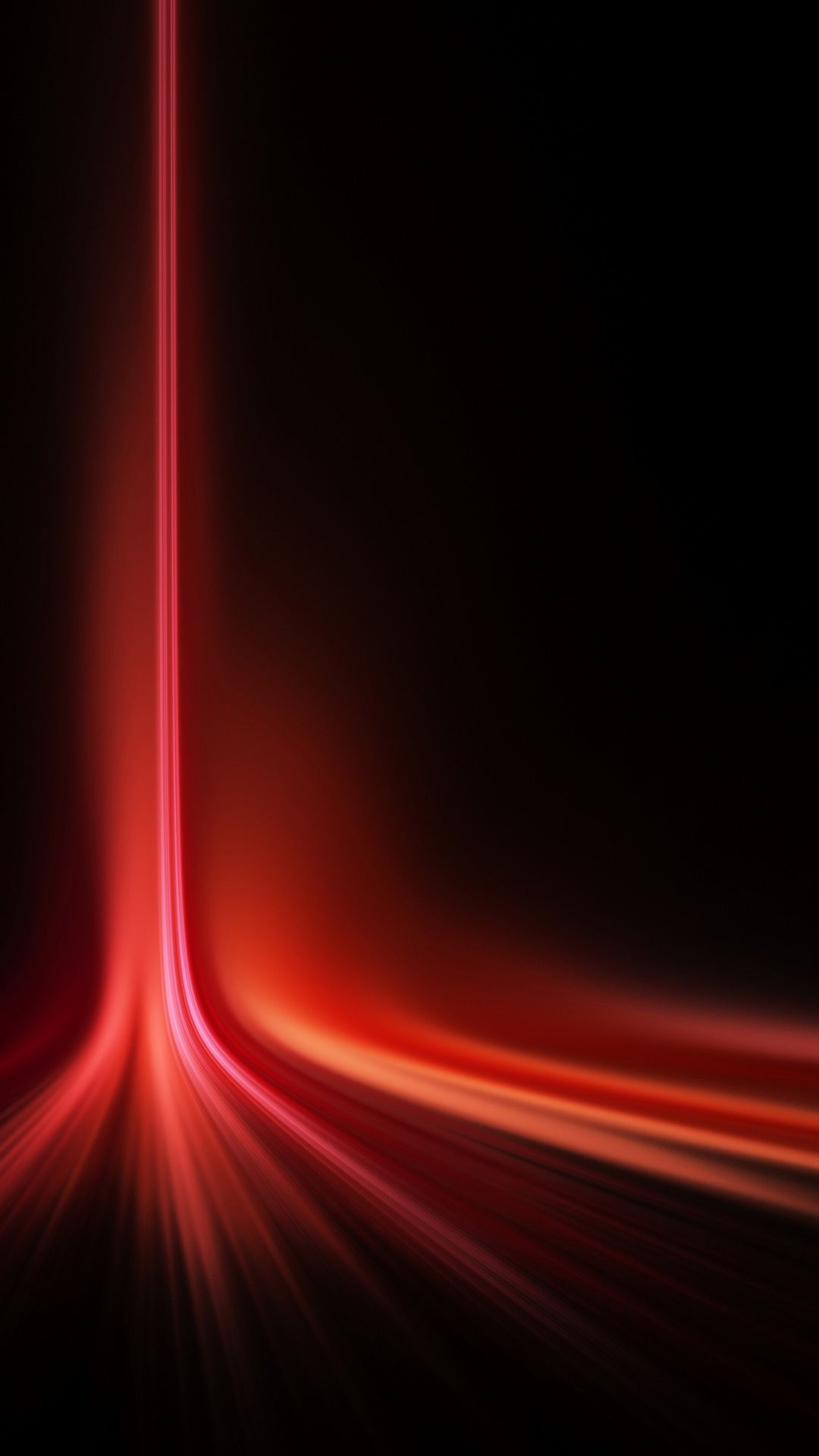 vertical red laser light spread android wallpaper | dark wallpapers