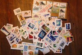Kaarina Davis: Säästä käytetyt postimerkit