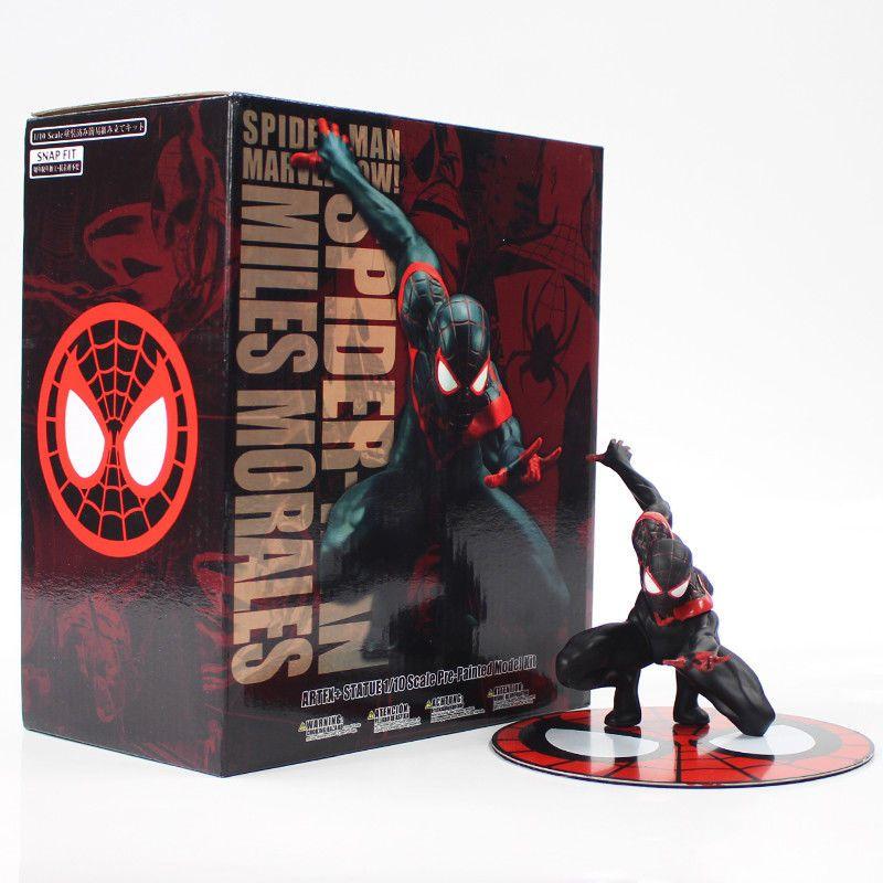 new in box Miles Morales Statue Kotobukiya Marvel Ultimate Spider-Man ARTFX