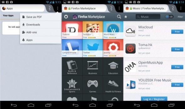 تحميل متصفح فايرفوكس Firefox Android عربي Apk للاندرويد App Web