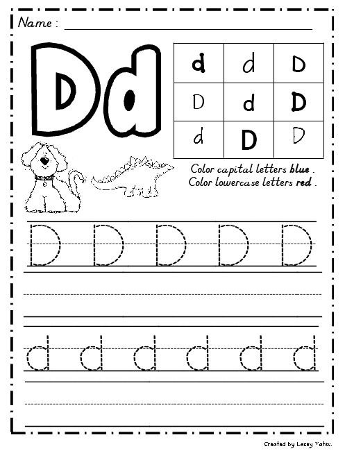 Common Worksheets » Alphabet Writing Practice Worksheets For ...