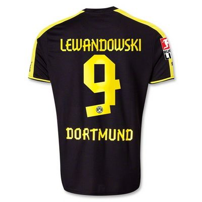 camisetas Lewandowski borussia dortmund 2014 segundae equipacion ...