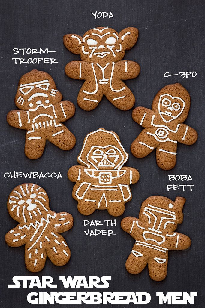star wars gingerbread men recipe - Bake Love Give