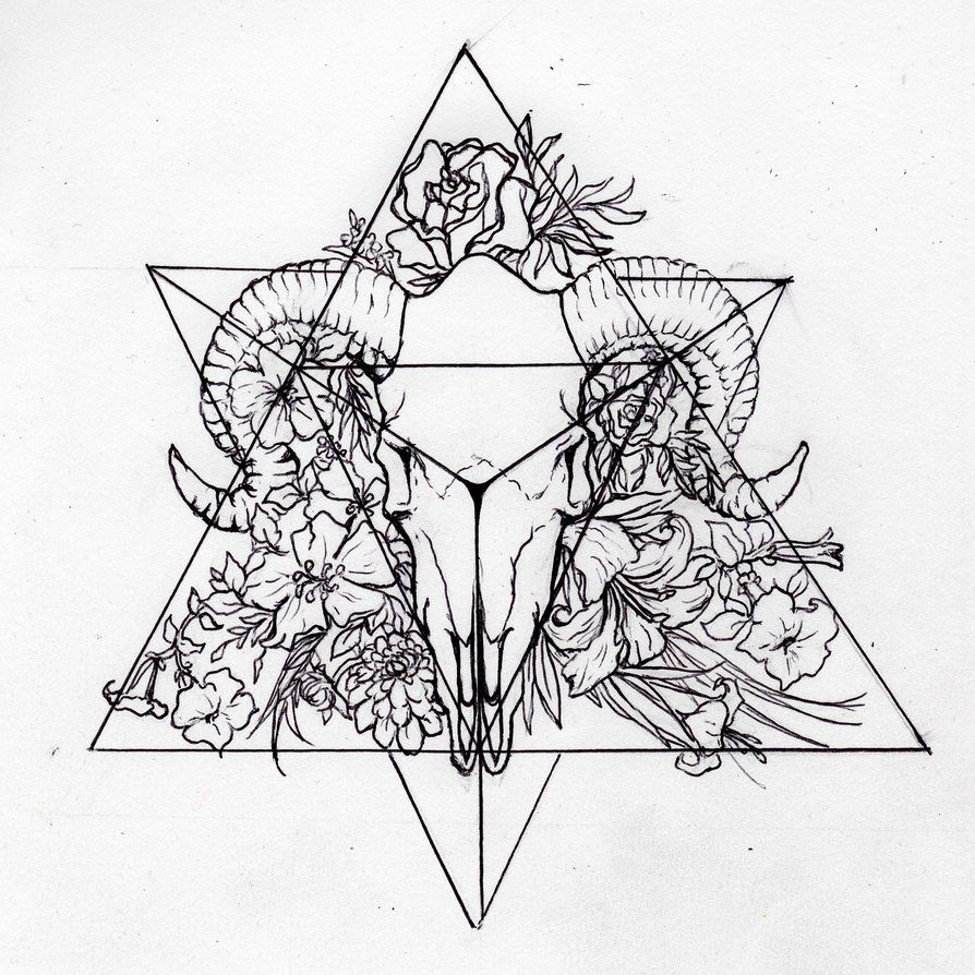 Tetrahedron (Personal Tattoo Design) By Morgan96k On
