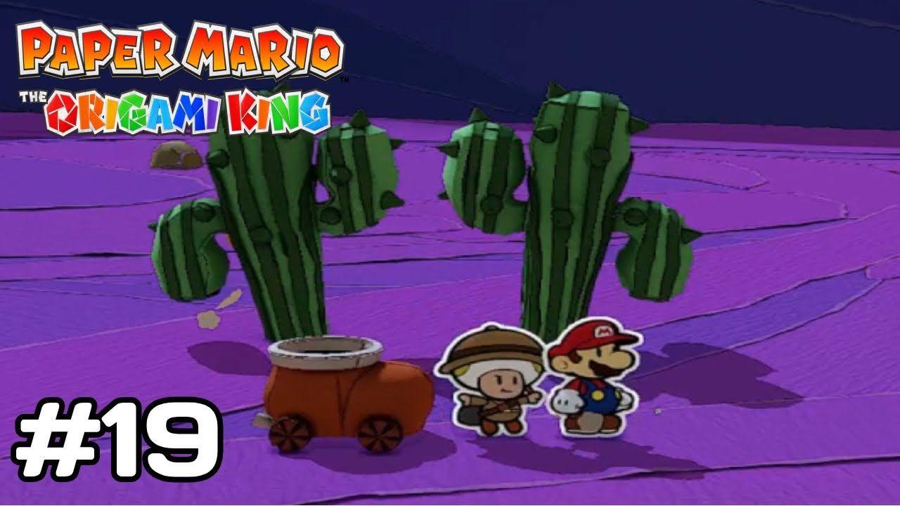 Paper Mario Origami King Walkthrough
