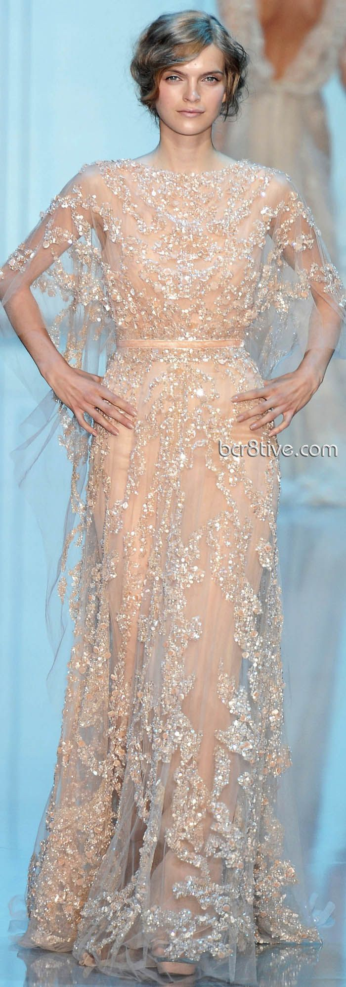 Elie saab fall winter haute couture collection gala dress