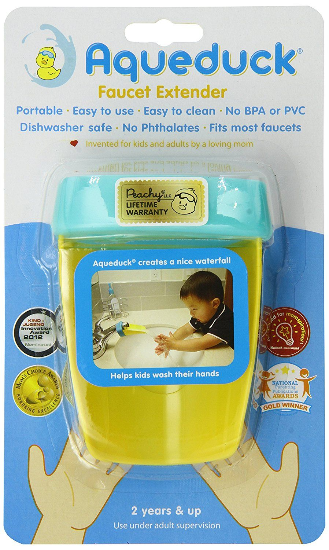 Aqueduck Faucet Extender, Aqua: Amazon.ca: Home & Kitchen | Baby ...