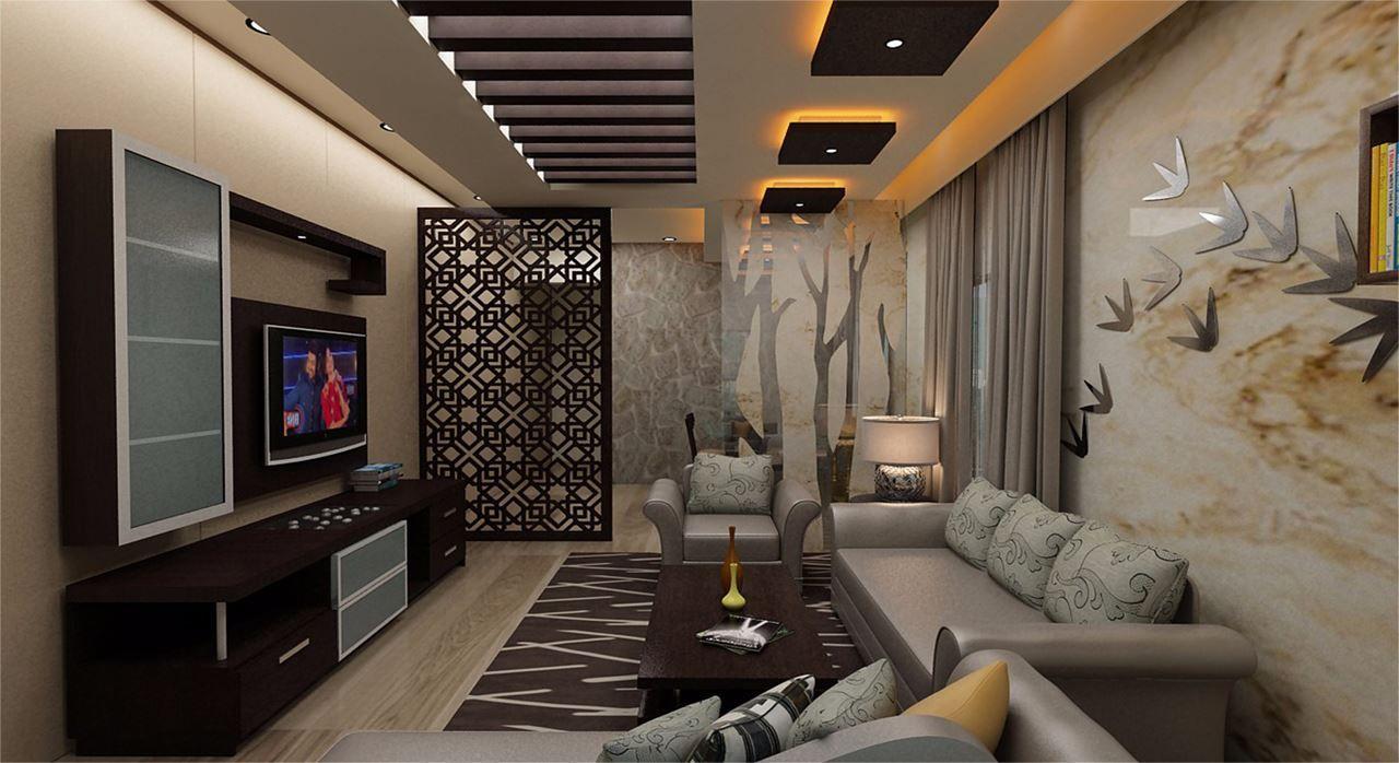 Casa 2bhk Interior 2 House Ceiling Design False Ceiling Living