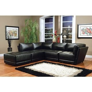 shop for bonded leather modular sectional sofa get free delivery at