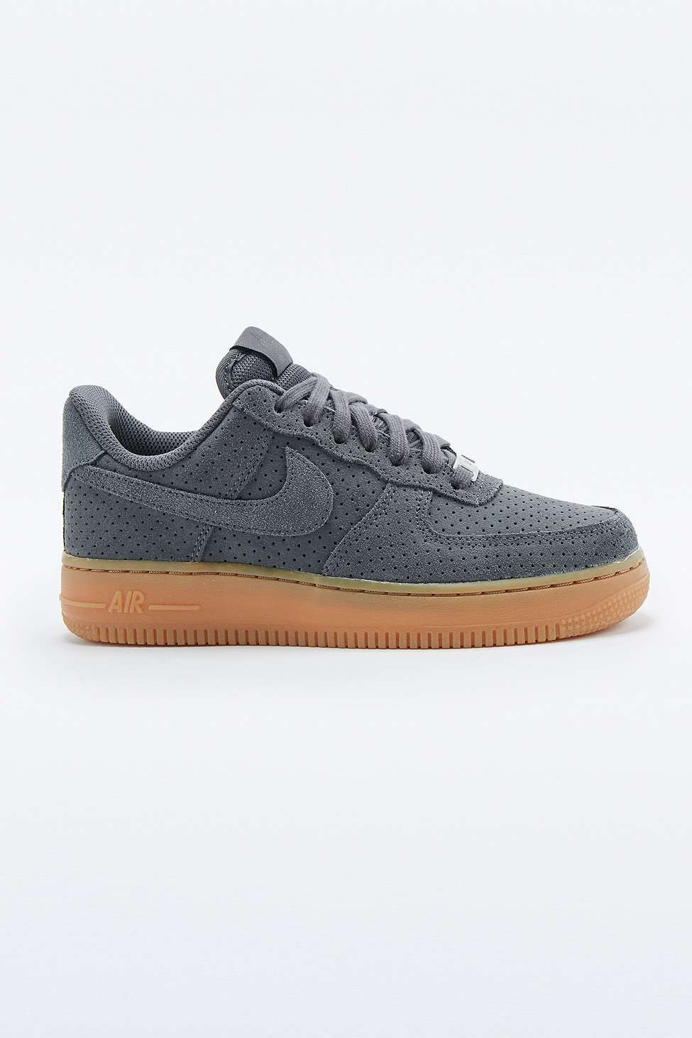 Nike - Baskets Air Force 1 en daim gris
