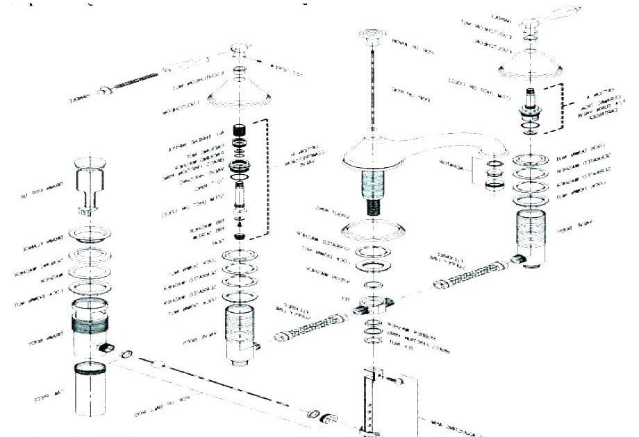 Delta Lav Faucet Cartridge Bathtub Faucet Diagram Causie Co Delta