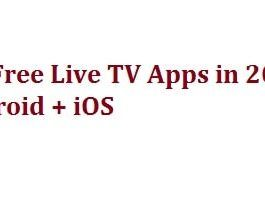 Top 8 Best Live TV Apps for Android & iPhone 2020 (Free