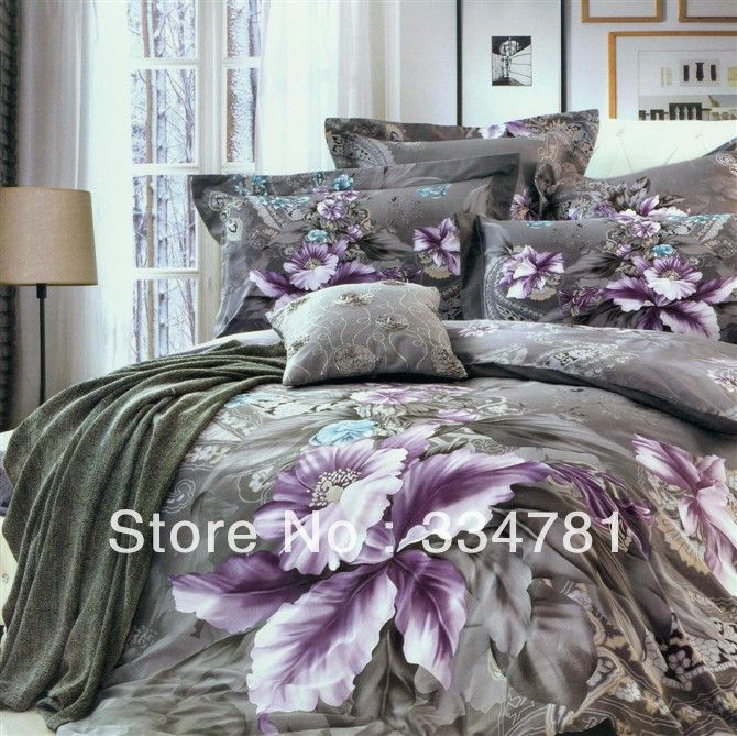 Cotton 4pc Doona Duvet Quilt Cover Set