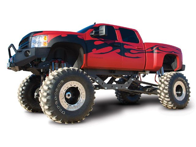 Chevrolet Silverado By The Guys That Brought You Bigfoot Chevy