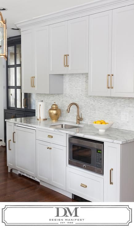 Light Gray Cabinets With Gray Quartzite Countertops