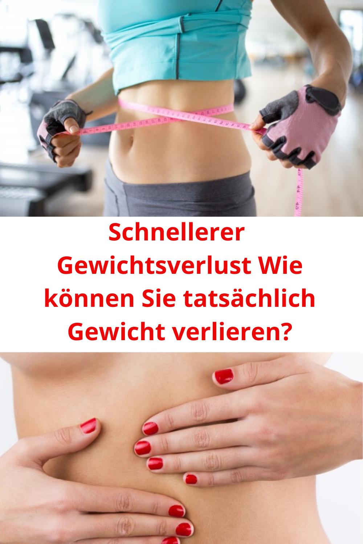 Beschleunigte Gewichtsverlust Methode
