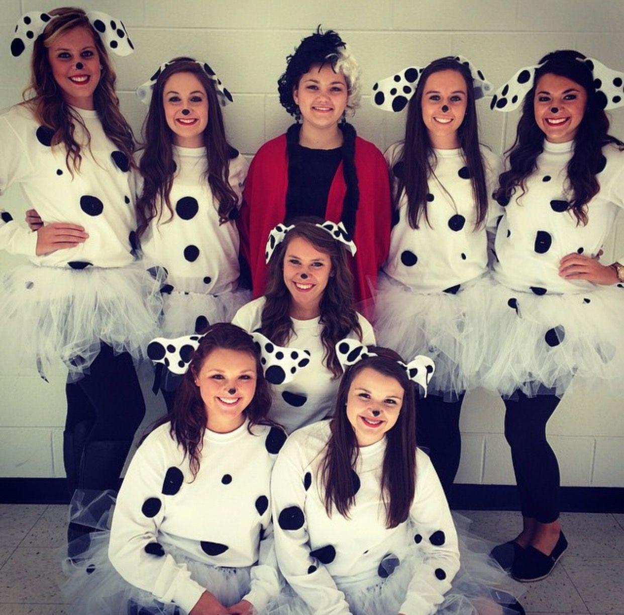 DIY 101 Dalmatians for spirit week or Halloween costume