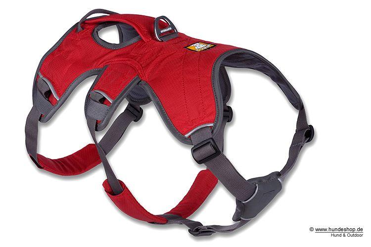 Klettergurt Hund : Ruffwear web master harness hundegeschirr rot our grand design