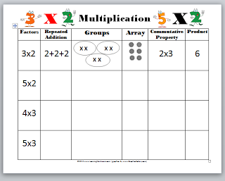 coloring multiplication array  you can download the worksheet from  coloring multiplication array  you can download the worksheet from my  website just click on the link