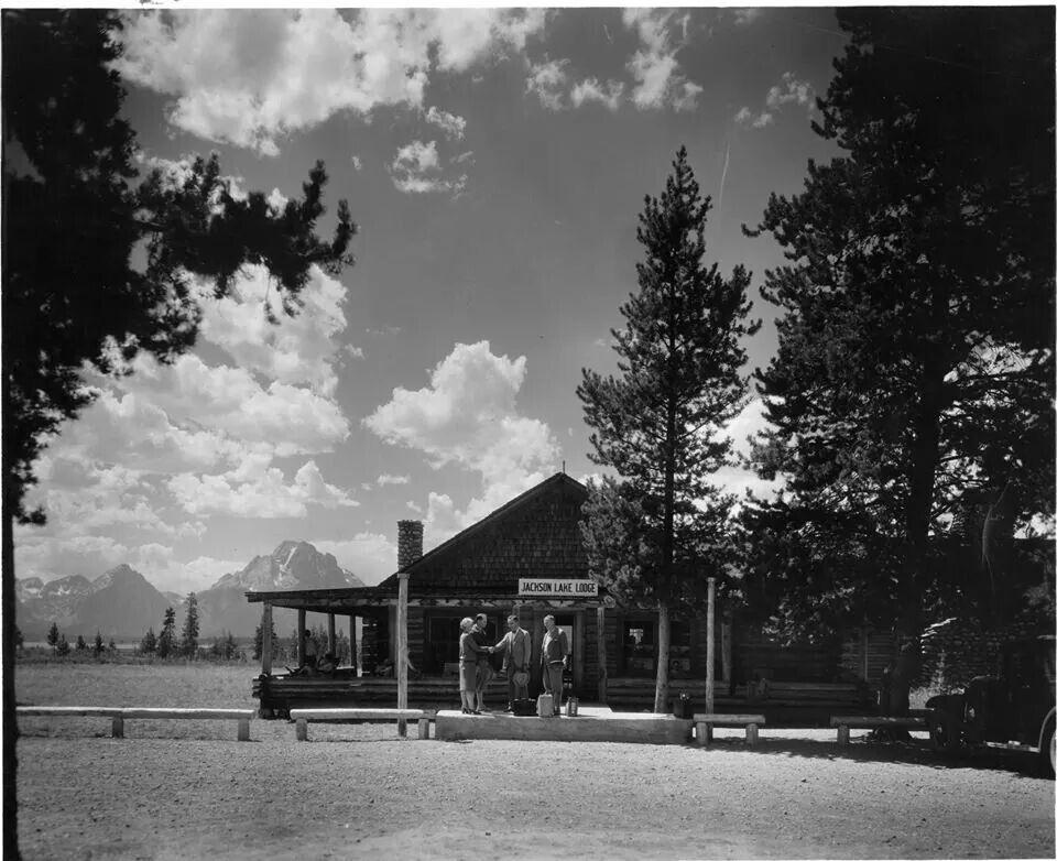Jackson Lake Lodge At Jackson Lake In Grand Teton National