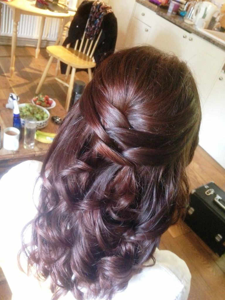 Admirable 1000 Images About Wedding Hairstyles On Pinterest Half Up Half Hairstyle Inspiration Daily Dogsangcom