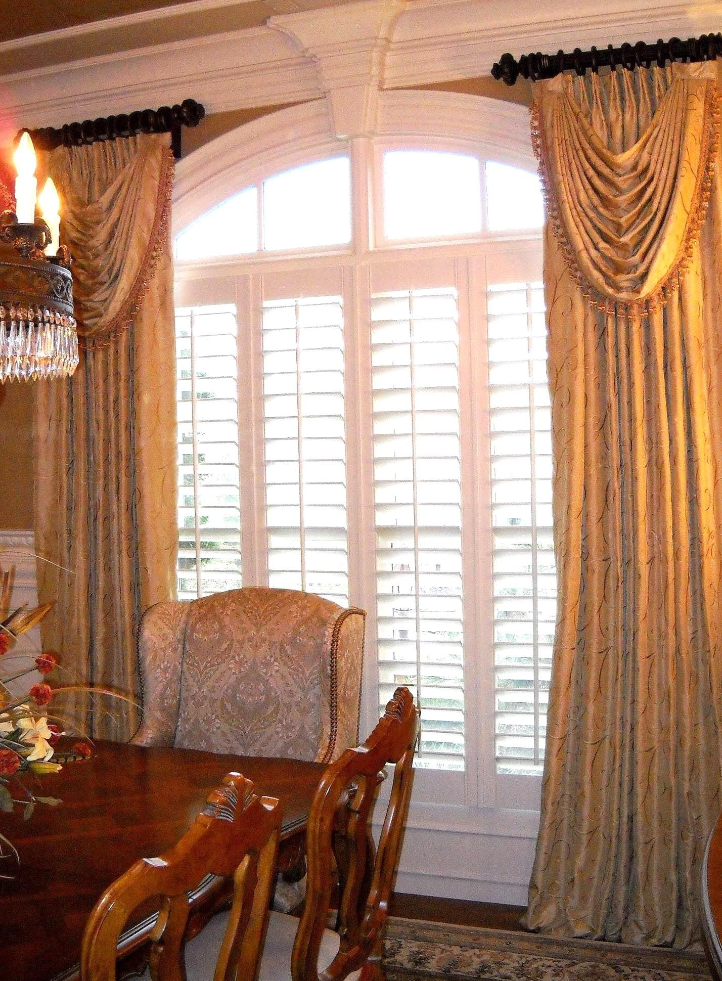 Formal Dining Room Window Treatments Best Of Windowtreatments Ring Curtains With Swags I Dining Room Curtains Dining Room Window Treatments Elegant Dining Room