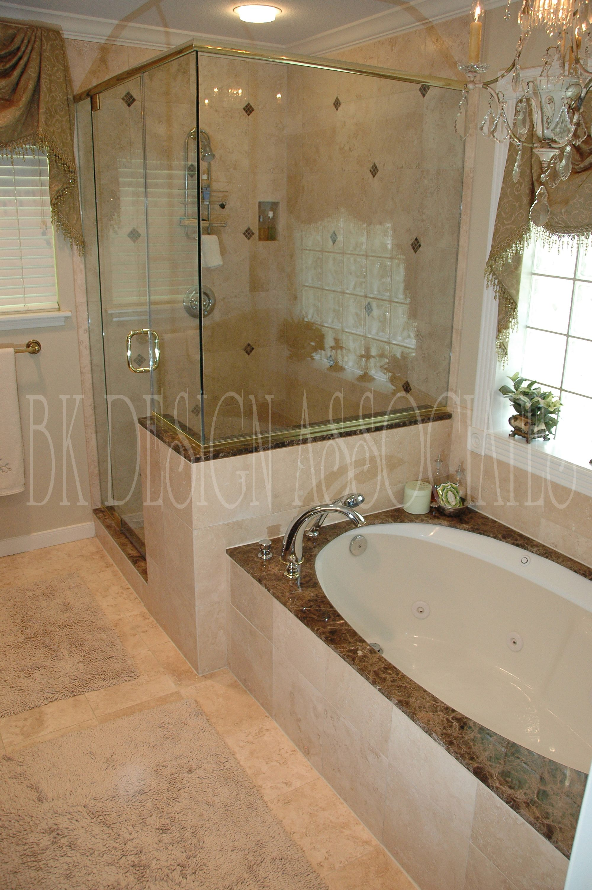 im totally gutting my master bath i have attached a proposed redesign - Bathrooms Showers Designs