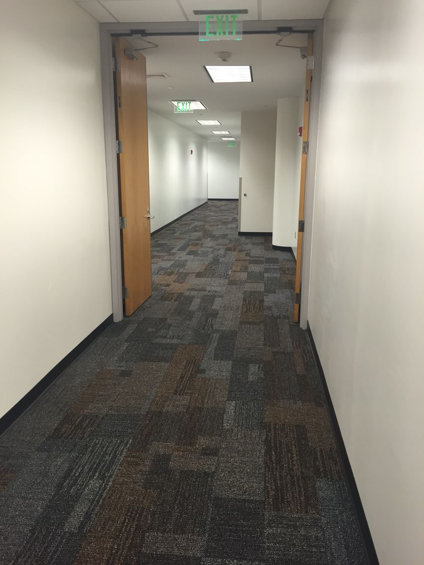 Interface Verticals Workplace design, Carpet tiles