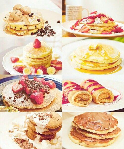 Imagen de food and pancakes
